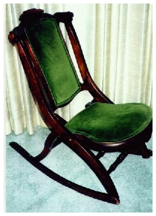 JLA FORUMS - S. Bent  Brothers Rocking Chair (Hudson) $90